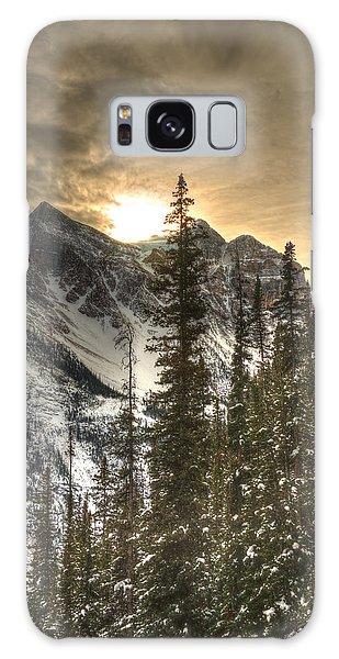Sunrise Over A Mountain Ridge Galaxy Case