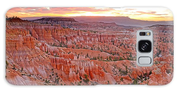 Sunrise Over Bryce Amphetheater Galaxy Case