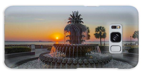 Sunrise Over Charleston Galaxy Case