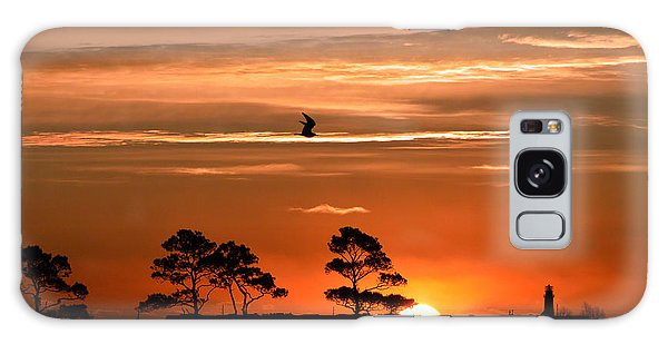 Sunrise Over Fenwick Island Galaxy Case by Bill Swartwout
