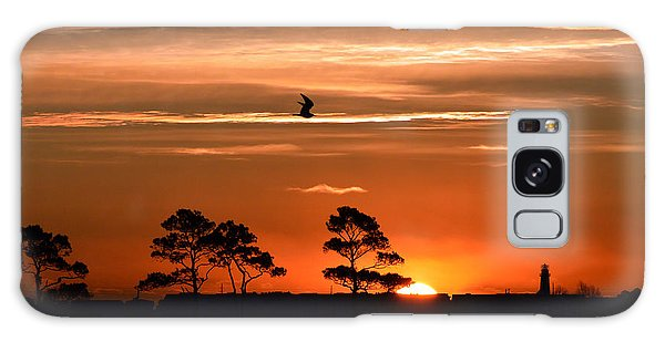 Sunrise Over Fenwick Island Galaxy Case