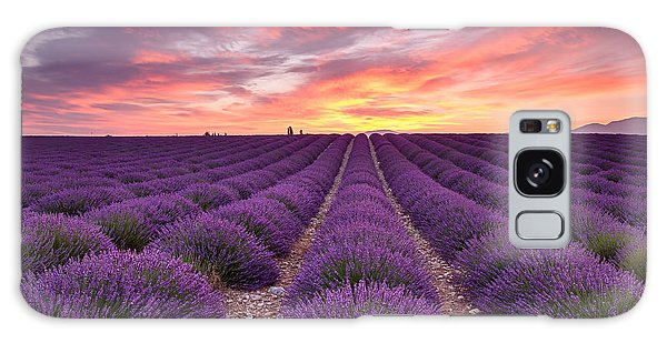 Sunrise Over Lavender Galaxy Case