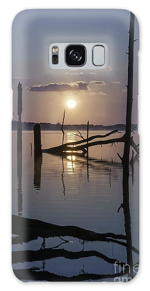 Sunrise Over Manasquan Reservoir Galaxy Case