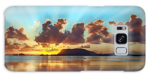 Sunrise Over Marine Corps Base Hawaii Galaxy Case