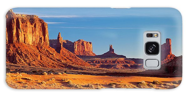 Sunrise Over Monument Valley Galaxy Case