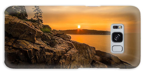 Sunrise Over Otter Cove Galaxy Case