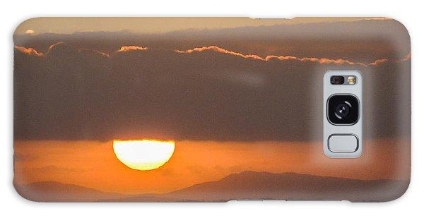Sunrise Over River Shannon Galaxy Case