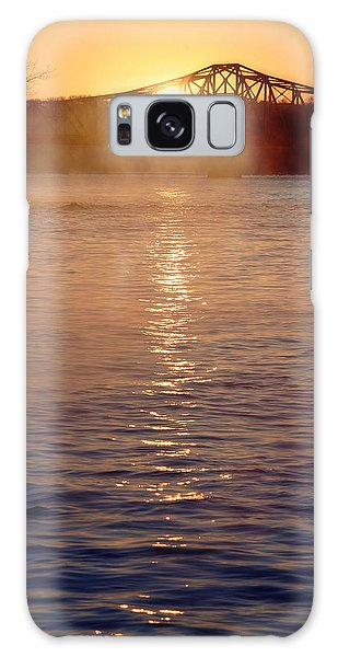 Sunrise Over Table Rock Galaxy Case