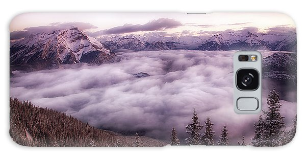 Sunrise Over The Canadian Rockies Galaxy Case
