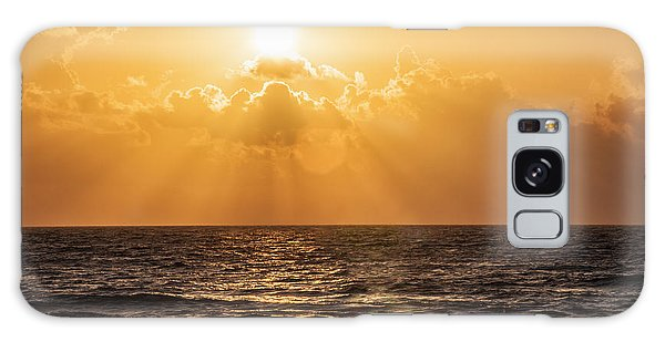 Sunrise Over The Caribbean Sea Galaxy Case