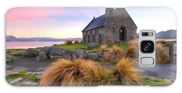 Sunrise Over The Church Of The Good Sheperd Galaxy Case by Bill  Robinson