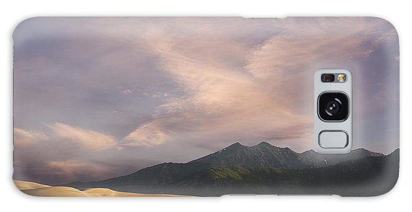 Sunrise Over The Great Sand Dunes Galaxy Case