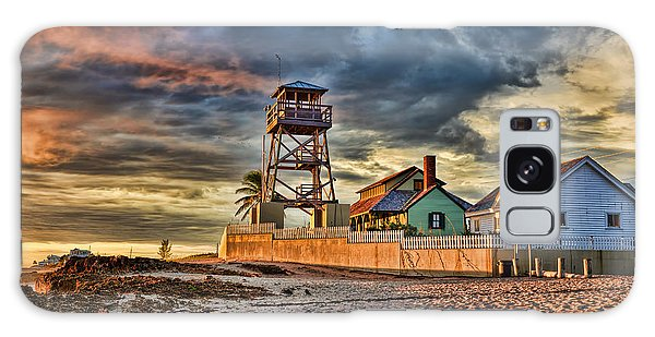 Sunrise Over The House Of Refuge On Hutchinson Island Galaxy Case