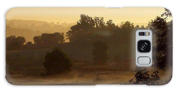 Sunrise Over The Mist Galaxy Case