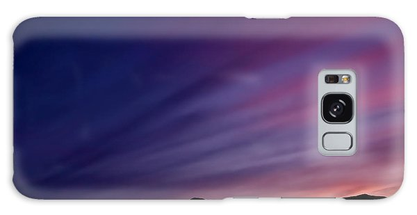 Sunrise Over The Mountains Galaxy Case