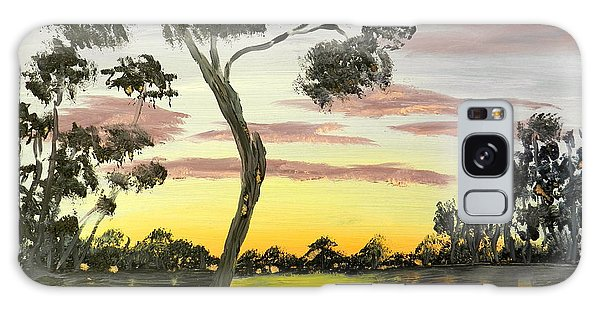 Sunrise Over The Murray River At Lowson South Australia Galaxy Case