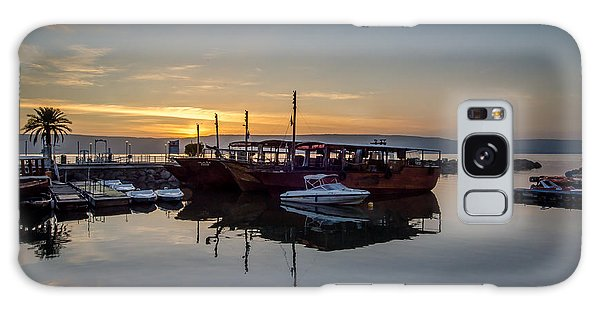 Sunrise Over The Sea Of Galilee Galaxy Case