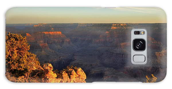 Sunrise Over Yaki Point At The Grand Canyon Galaxy Case by Alan Vance Ley