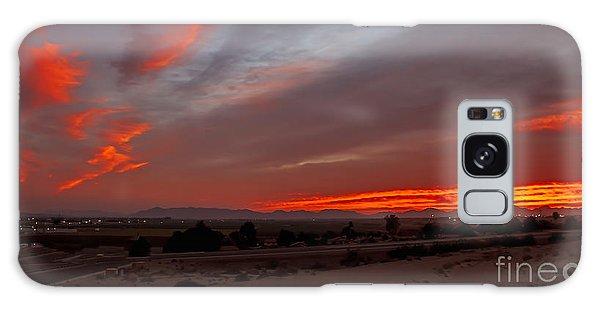 Haybale Galaxy Case - Sunrise Over Yuma by Robert Bales