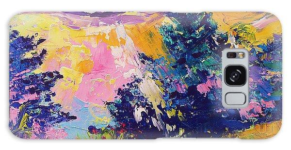 Sunrise Painting Oil On Canvas Ekaterina Chernova Galaxy Case