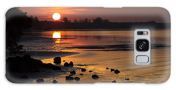 Sunrise Photograph Galaxy Case