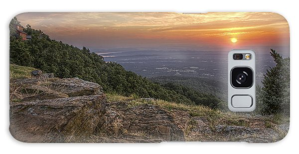 Sunrise Point From Mt. Nebo - Arkansas Galaxy Case
