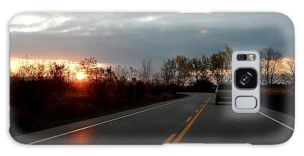 Sunrise Ride Galaxy Case