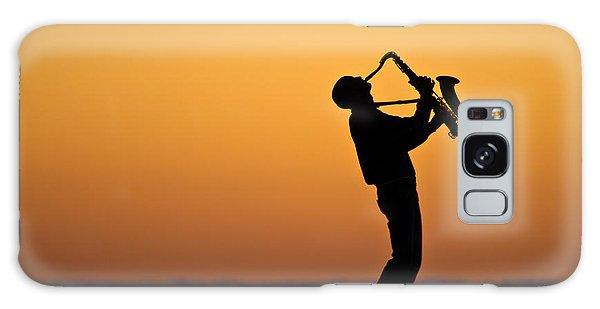 Sunrise Serenade Two Galaxy Case by Brad Grove