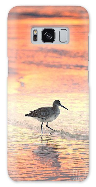 Sunrise Shorebird Galaxy Case