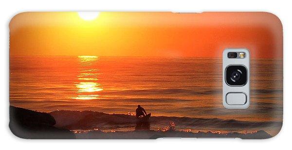 Sunrise Surfer Galaxy Case