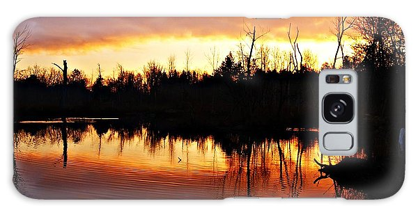 Sunrise Thanksgiving Morning Galaxy Case