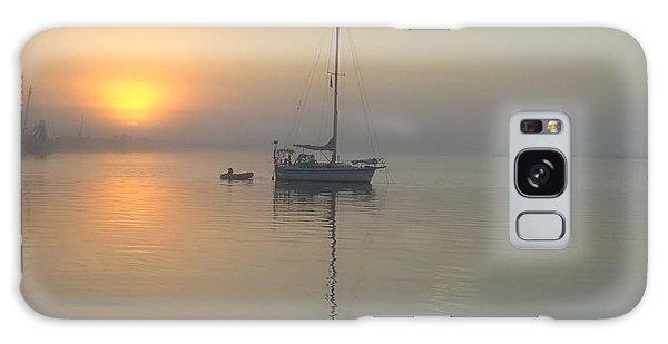 Sunrise Through The Fog Galaxy Case