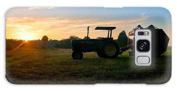 Sunrise Tractor Galaxy Case