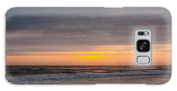 Sunrise Under The Clouds Galaxy Case