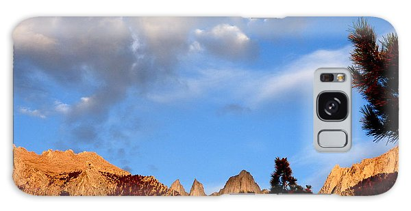 Sunrise Whitney Portal Galaxy Case