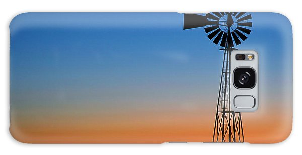 Sunrise Windmill Galaxy Case by Steven Reed