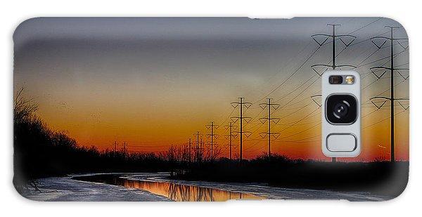 Sunrise Winter Reflection Galaxy Case