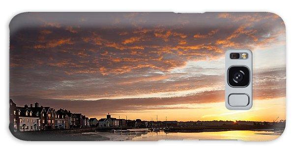 Sunrise Wivenhoe Galaxy Case by David Davies