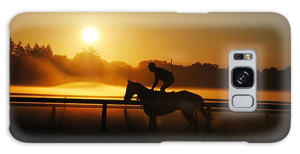 Workout Galaxy Case - Sunrise Workout by George Fredericks