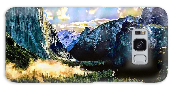 Sunrise Yosemite Valley Nationalpark Galaxy Case