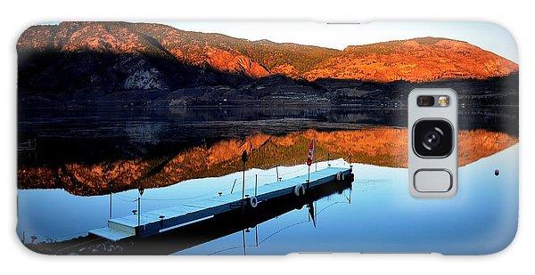 Sunrising - Skaha Lake 3-18-2014 Galaxy Case