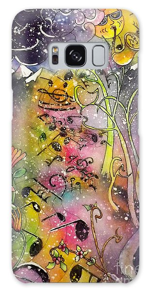 Suns Sax Spring Song Galaxy Case