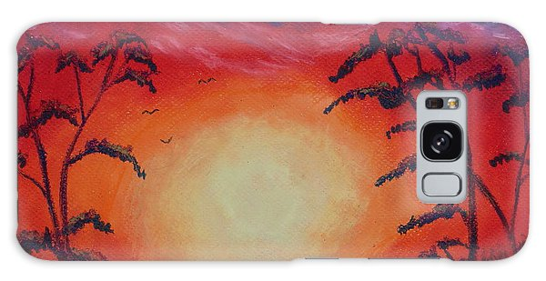 Sunset 1 Galaxy Case by Jeanne Fischer