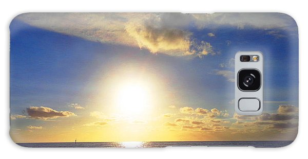 Sunset 2 Galaxy Case by Ute Posegga-Rudel