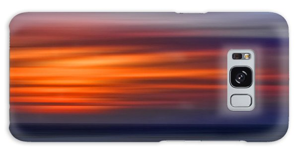 Sunset Abstract Galaxy Case by Clare VanderVeen