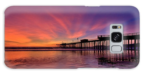 Sunset Afterglow Galaxy Case