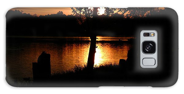 Sunset And Tree Galaxy Case