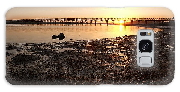 Sunset And Wooden Bridge In Ludo Galaxy Case
