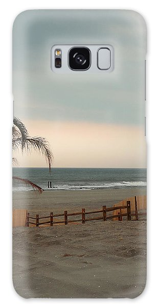 Sunset At Atlantic City Galaxy Case by Margie Avellino