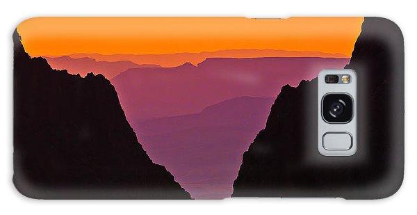 Sunset At Big Bend Galaxy Case